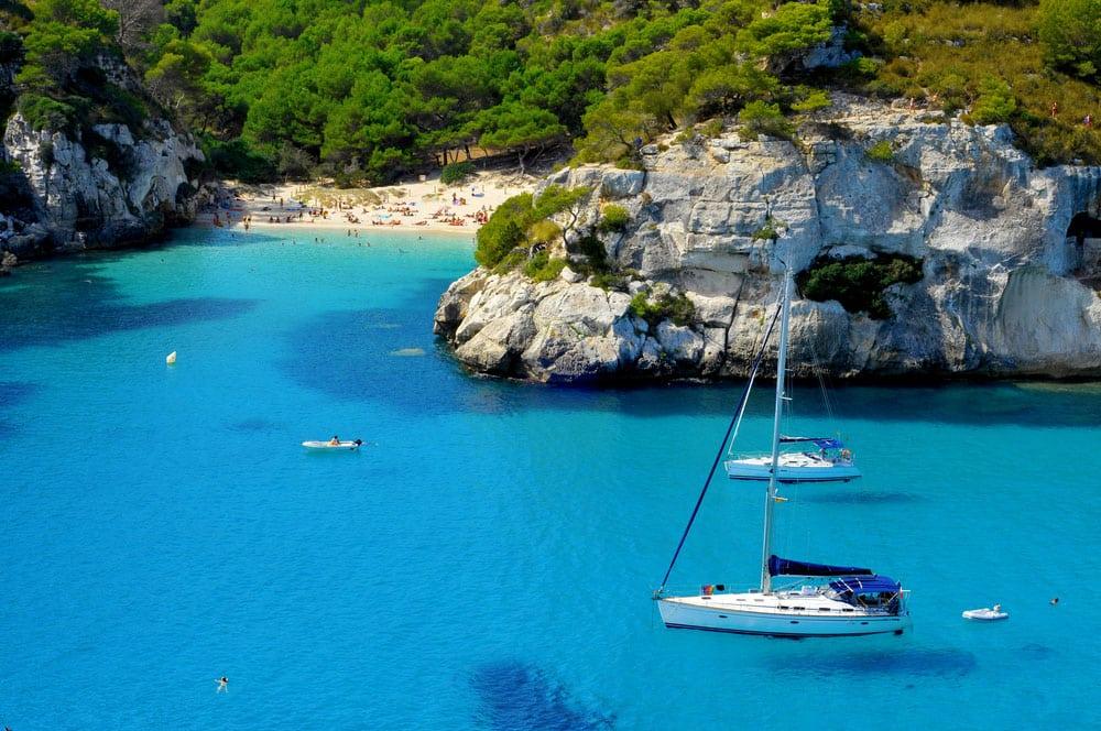 Cala de Macarelleta, Menorca, Baleares