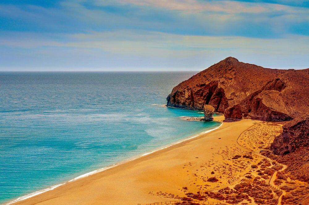 Playa de los Muertos en Parque Natural Cabo de Gata-Níjar, Almeríatur