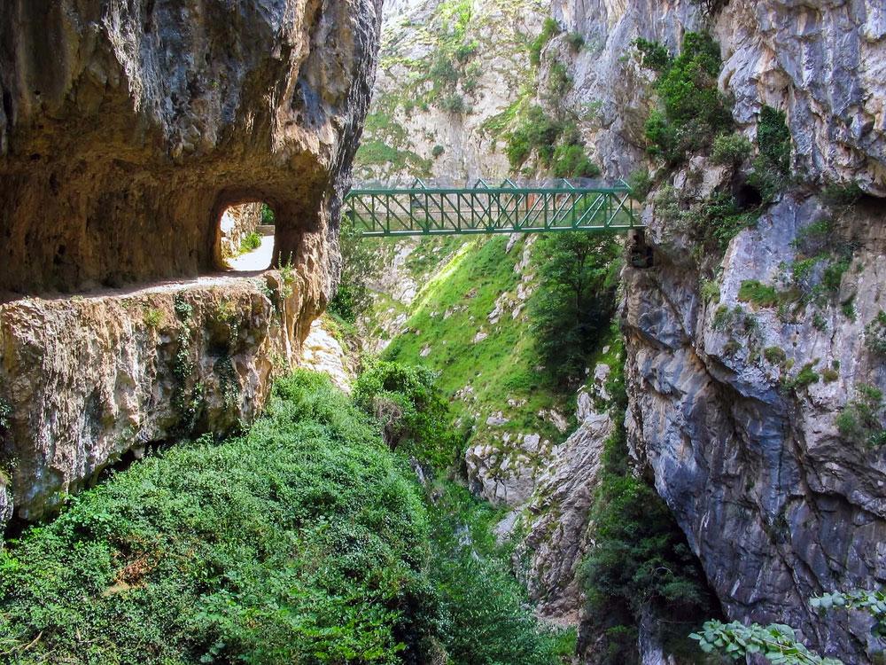 Ruta del Cares en Picos de Europa, Asturias
