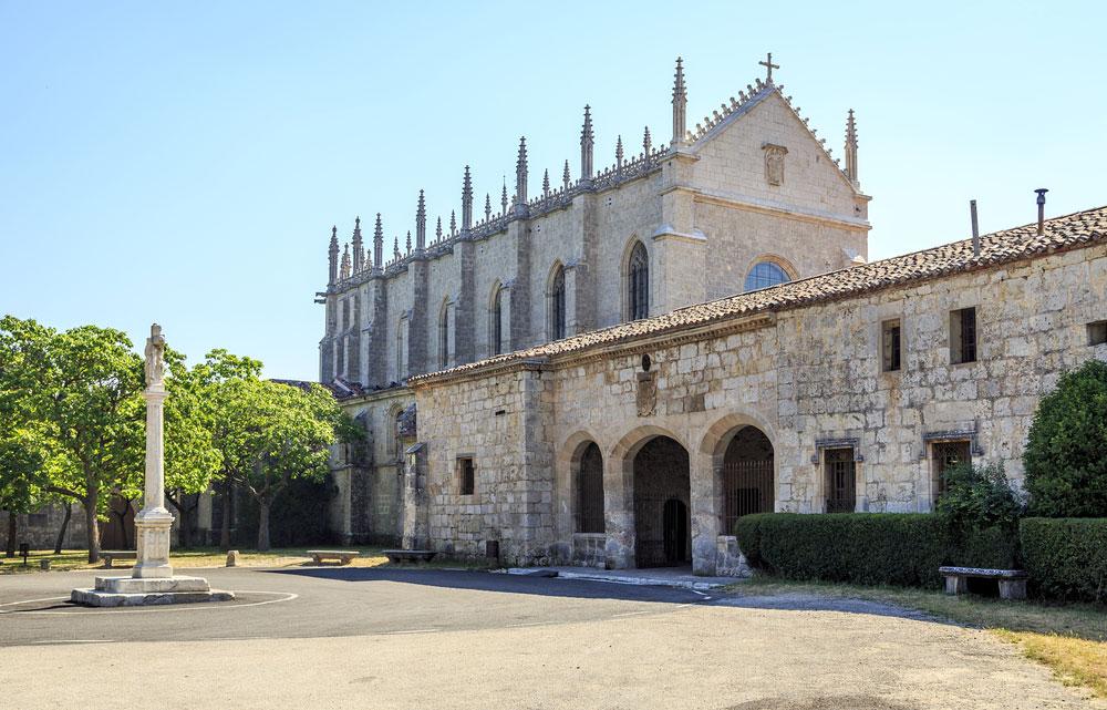 Monasterio de la Cartuja de Miraflores en Burgos