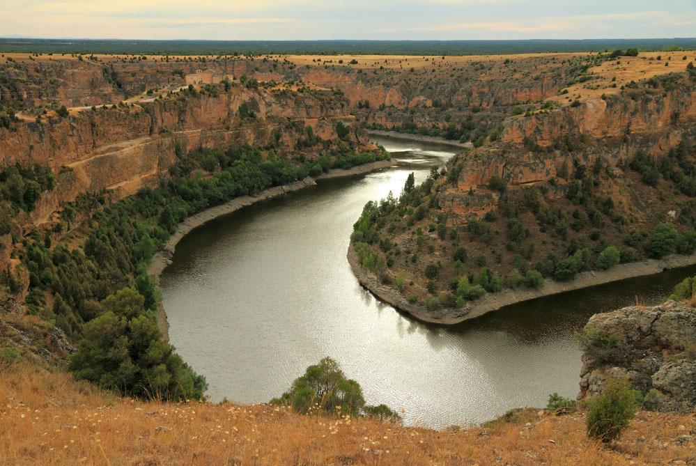 Hoces del Río Duratón y vistas monasterio de San Frutos