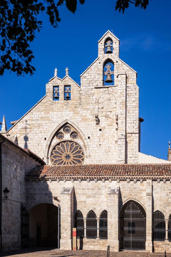 Fachada iglesia de San Francisco en Palencia