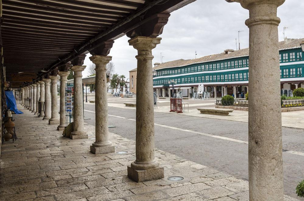 Plaza Mayor en Almagro, Ciudad Real
