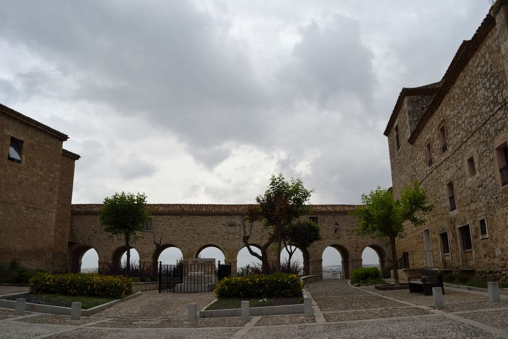 Plaza de Santa Clara en Lerma, Burgos