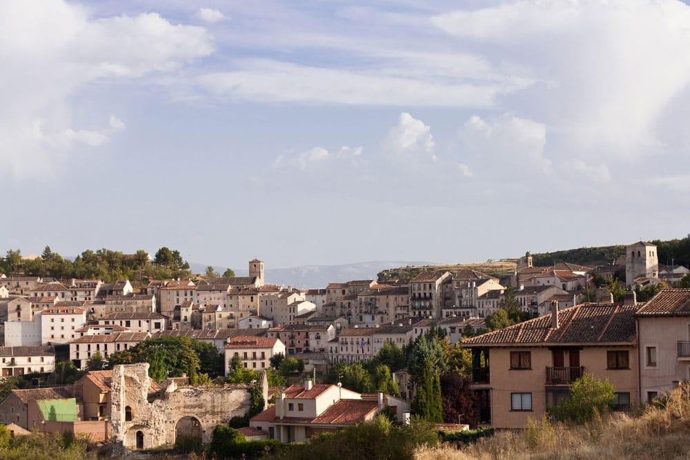 Pueblo o villa de Sepúlveda en Segovia