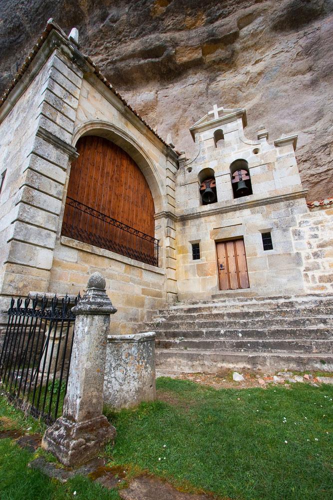 Ermita en Sotoscueva en Burgos