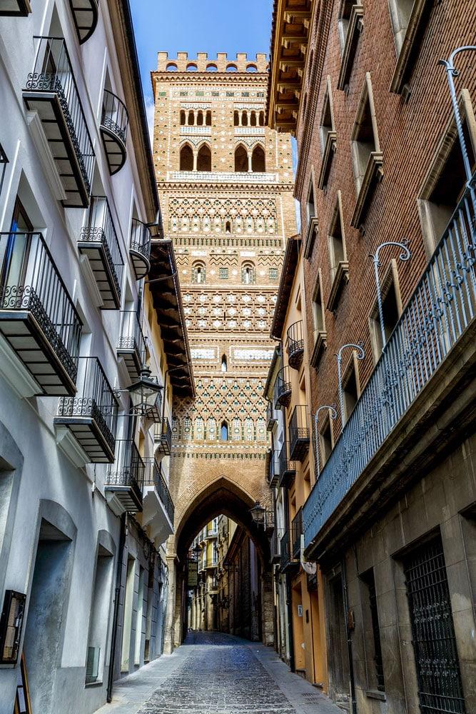 Torre de El Salvador en Teruel