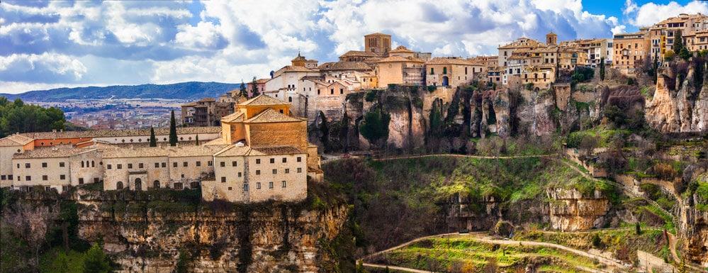 Vista panorámica de la ciudad de Cuenca