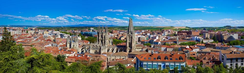 Vista general de la ciudad de Burgos