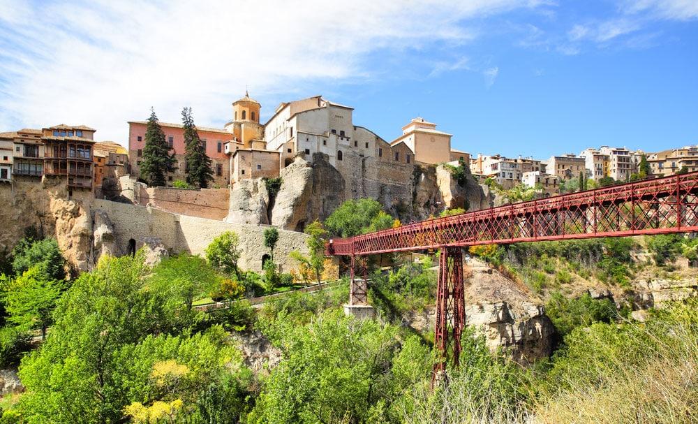 Puente de San Pablo con Casas Colgadas enfrente, Cuenca