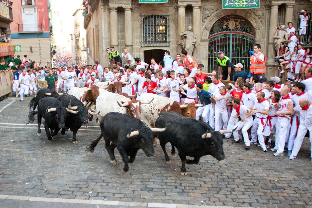 Toros en Pamplona