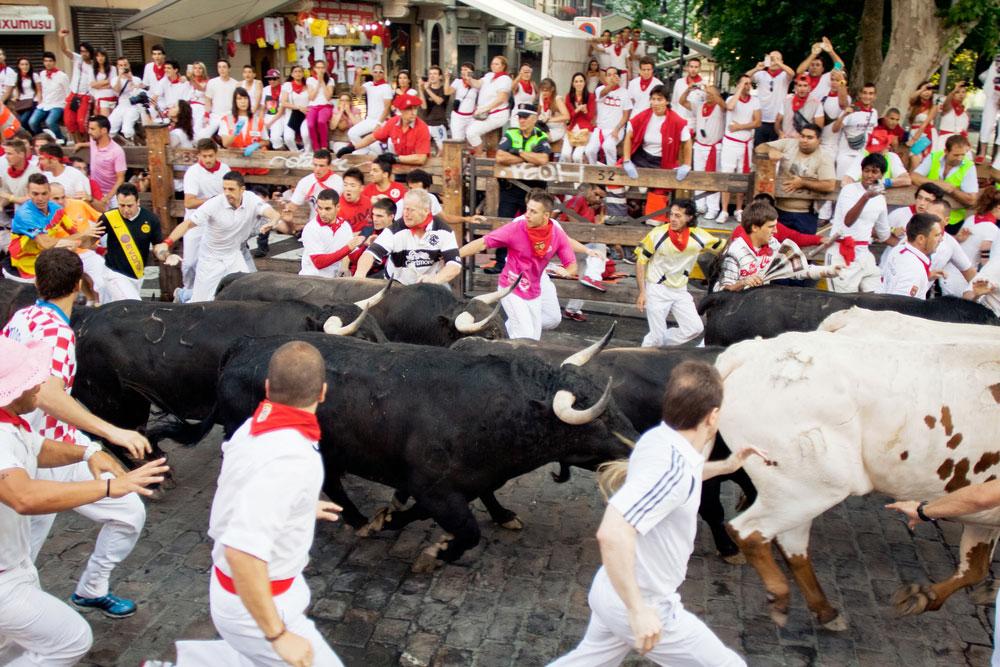 Encierro en San Fermín