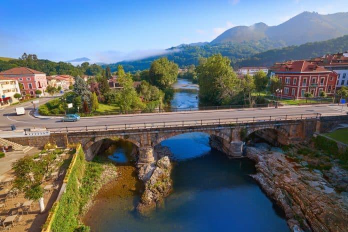 Río Sella y Cangas de Onís