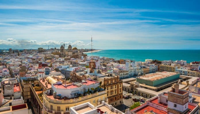 Panorámica de Cádiz